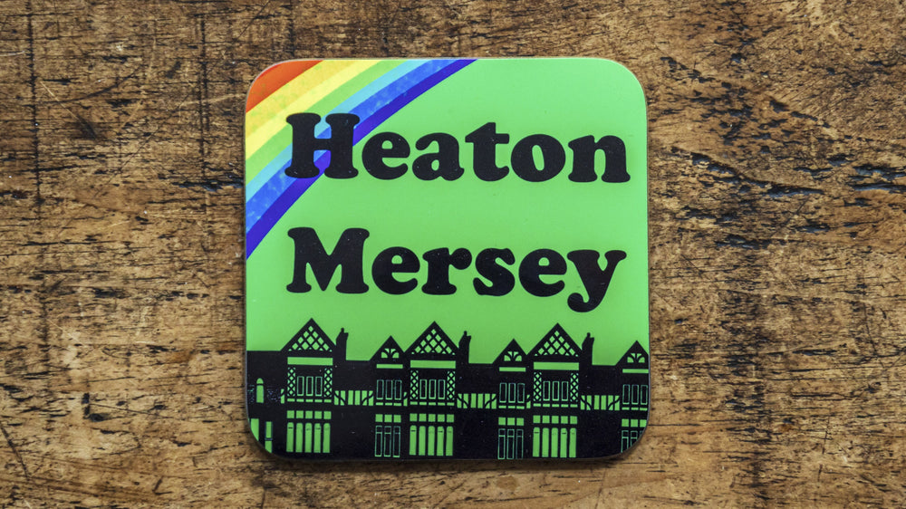 Load image into Gallery viewer, Heaton Mersey Stockport Coaster - Kitsch Republic