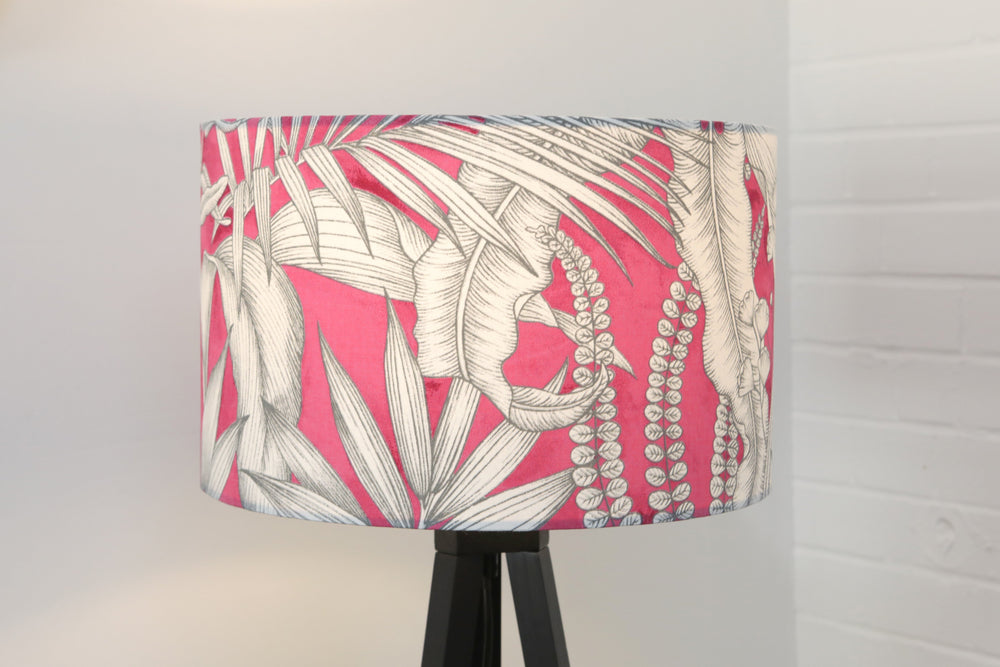 Tropical Pink Lampshade