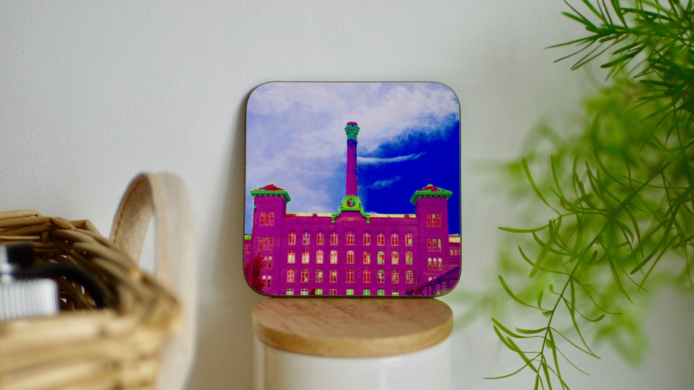 Houldsworth Mill Reddish Stockport Coaster - Kitsch Republic