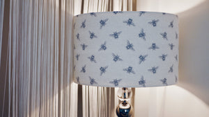 Grey Bee Lampshade - Kitsch Republic