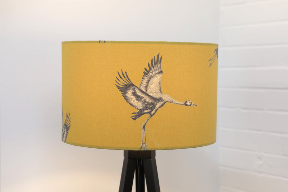 Load image into Gallery viewer, Mustard Lampshade