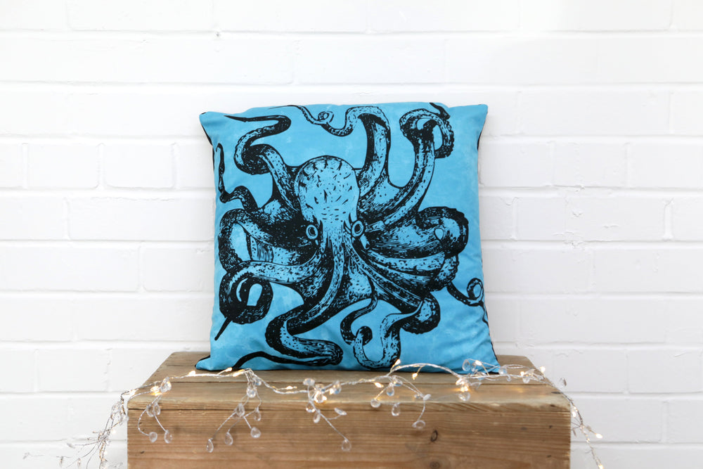 Load image into Gallery viewer, Octopus Kraken Cushion