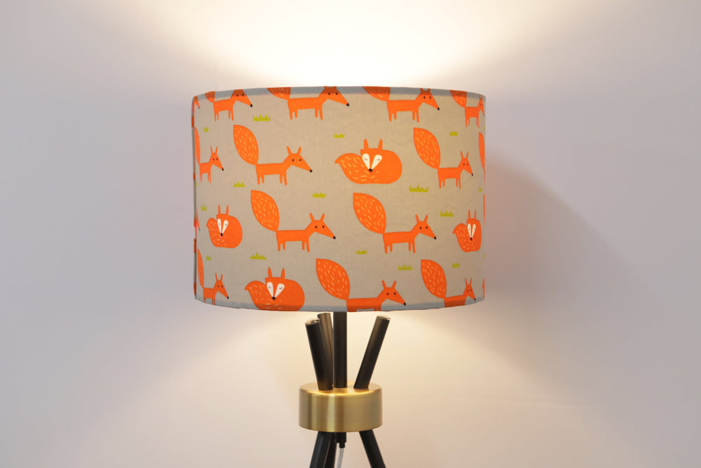 Load image into Gallery viewer, Fox Lampshade