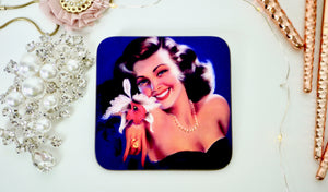 Pin Up Glamour Coaster - Kitsch Republic