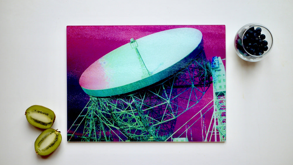 Jodrell Bank Chopping Board