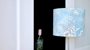 Load image into Gallery viewer, Blue Bird Lampshade 25cm