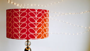 Orla Kiely Red Tomato Stem Lampshade - Kitsch Republic