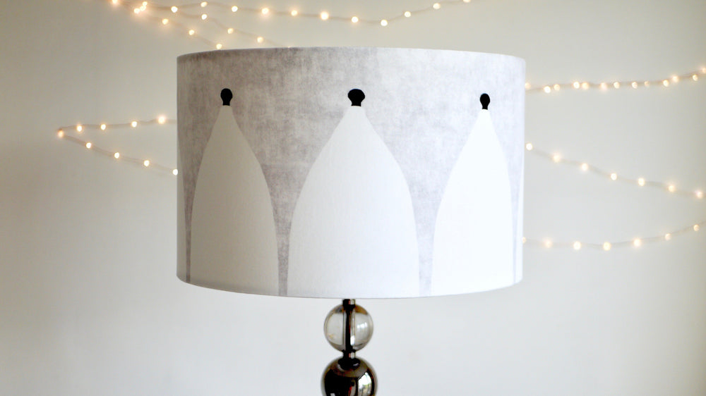 White Nancy Bollington Lampshade