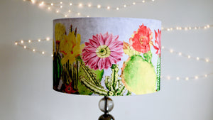 Load image into Gallery viewer, Velvet Succulent Lampshade