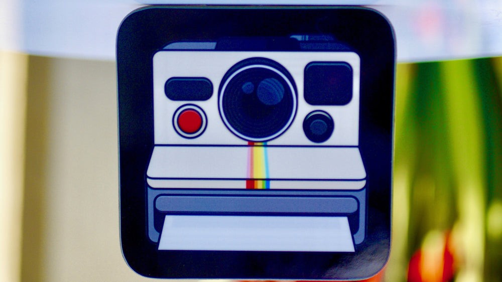 Retro Instant Camera Coaster - Kitsch Republic
