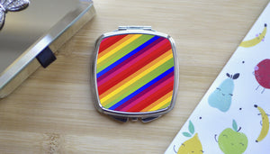 Load image into Gallery viewer, Rainbow -  Compact Mirror - Kitsch Republic
