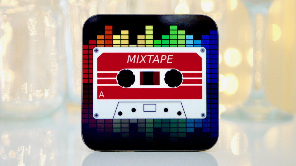 Retro 80s Cassette Coaster - Kitsch Republic