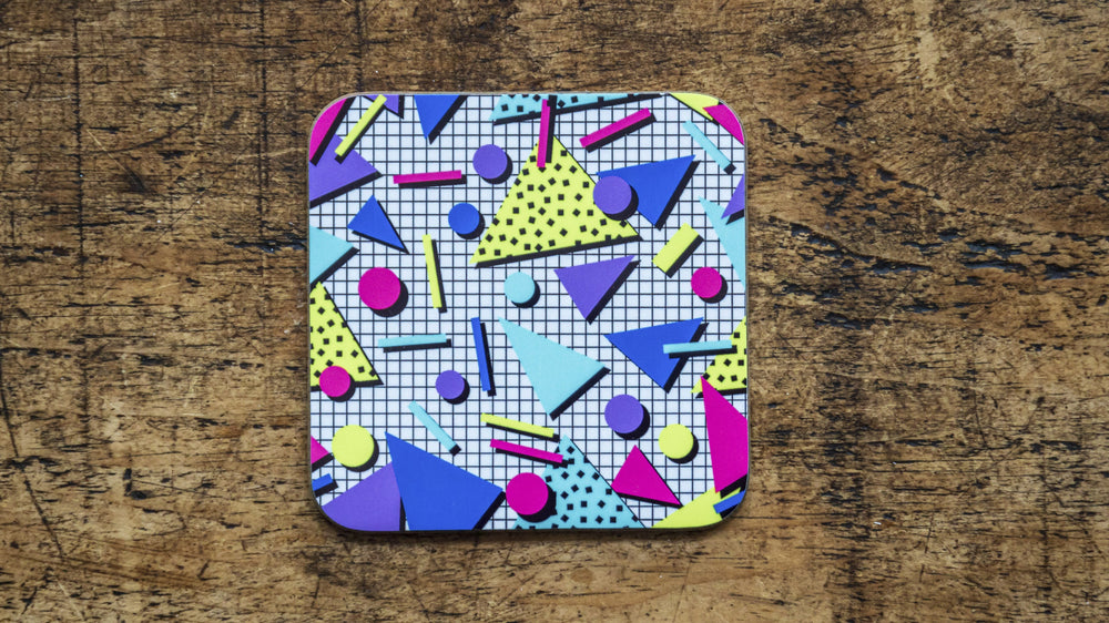 Retro 80s Coaster - Kitsch Republic