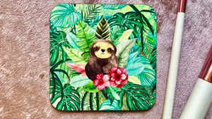 Cute Sloth Coaster - Kitsch Republic