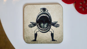 Steampunk Eye Coaster - Steampunk Collection - Kitsch Republic