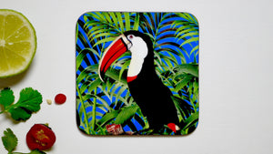 Load image into Gallery viewer, Toucan Tropical Bird Coaster