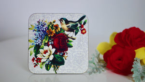 Vintage Birds Coaster - Kitsch Republic