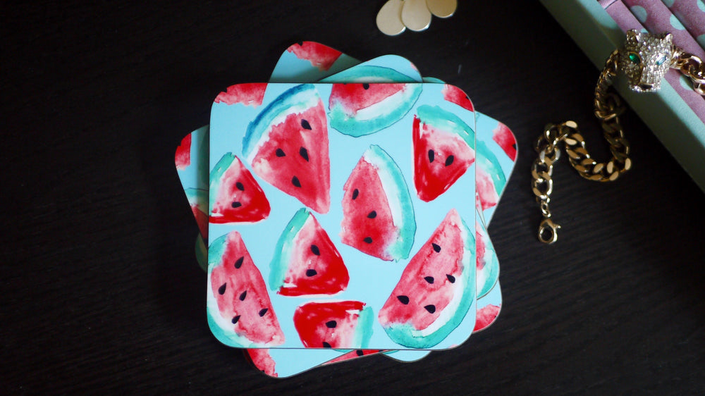 Tropical Watermelon Coaster - Kitsch Republic