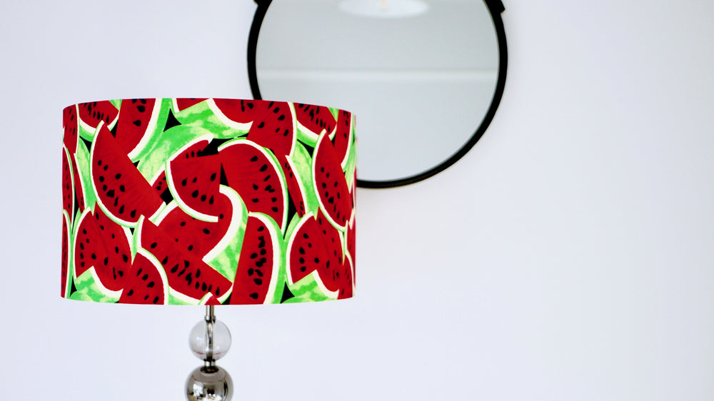 Tropical Watermelon Lampshade