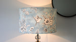 Pale Blue Classic Bird Design Lampshade - Kitsch Republic