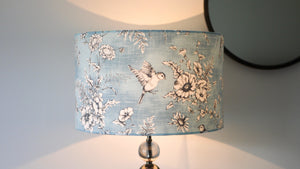 Load image into Gallery viewer, Blue Bird Lampshade