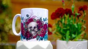 Day Of The Dead Ceramic Mug - Kitsch Republic