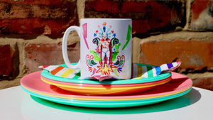 Lucha Libre Ceramic Mug - Kitsch Republic