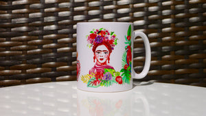 Load image into Gallery viewer, Frida Khalo Ceramic Mug - Kitsch Republic