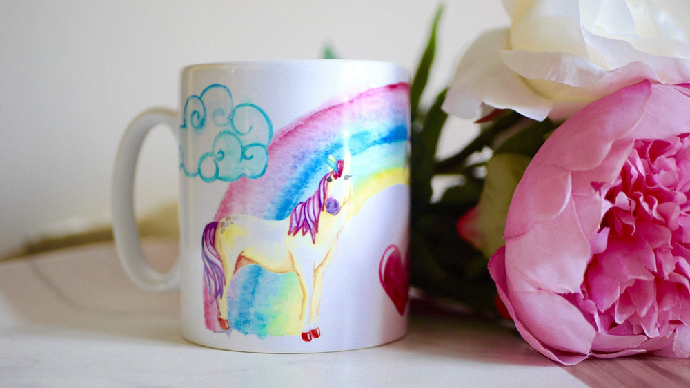 Unicorn Rainbow - Ceramic Mug - Kitsch Republic