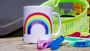 Rainbow - Ceramic Mug - Kitsch Republic