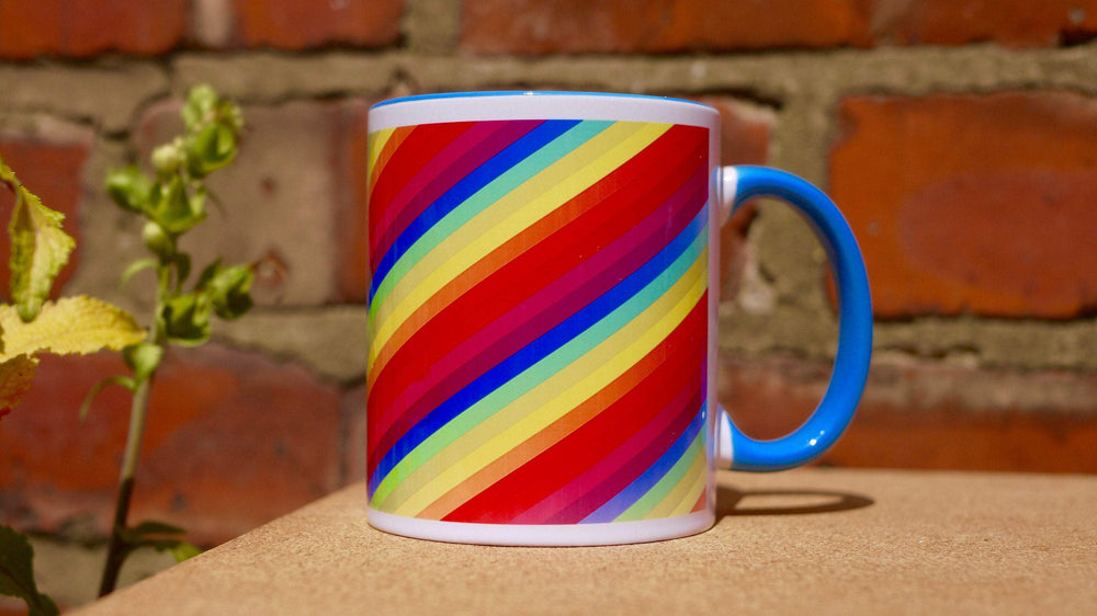 Load image into Gallery viewer, Rainbow - Ceramic Mug - Kitsch Republic