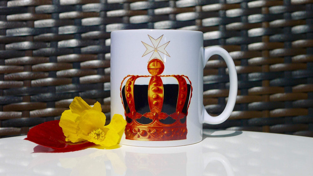 Load image into Gallery viewer, Queen Crown Mug - Ceramic Mug - Kitsch Republic