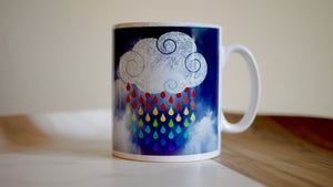Rain Clouds - Ceramic Mug - Kitsch Republic