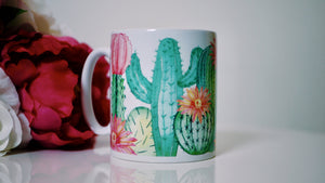Cactus Succulents - Ceramic Mug - Kitsch Republic