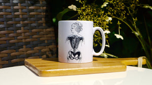 Steampunk Anatomy Woman - Ceramic Mug - Kitsch Republic