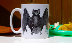 Steampunk Bat Mug - Ceramic Mug - Kitsch Republic