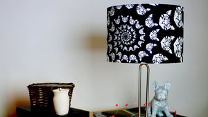 Crazy Cat Black & White Lampshade - Kitsch Republic