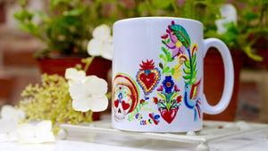 Mexico Day of the Dead - Ceramic Mug - Kitsch Republic