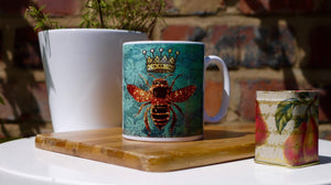 Load image into Gallery viewer, Queen Bee - Ceramic Mug - Kitsch Republic