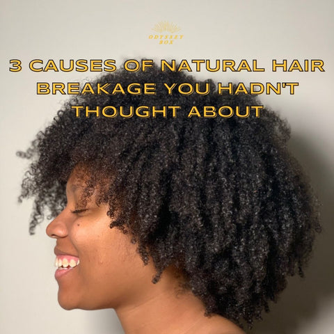 Cause of natural hair breakage
