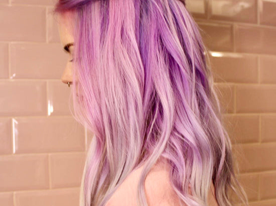 Tempted by lilac or pink hair? Here's what you need to know...