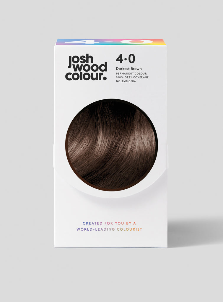 Permanent Colour 4.0 - Deep Dark Brown - Josh Wood Hair Colour at Home