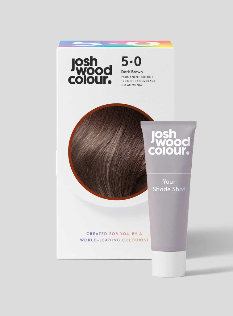 Permanent Colour 5.0   + Shade Shot - Josh Wood dark hair, grey coverage, klaviyo - category - colour, klaviyo - shade - dark, klaviyo - type - permanent colour, klaviyo - type - shade shot, winner, ygroup_perm5-0