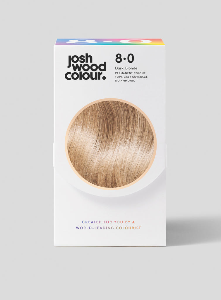 Permanent Colour 8.0 - Light Mid Blonde - Josh Wood grey coverage, klaviyo - category - colour, klaviyo - shade - light, klaviyo - type - permanent colour, light hair, winner, ygroup_perm8-0