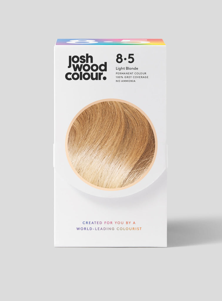 Permanent Colour 8.5 - Light Blonde - Josh Wood grey coverage, klaviyo - category - colour, klaviyo - shade - light, klaviyo - type - permanent colour, light hair, winner, ygroup_perm8-5