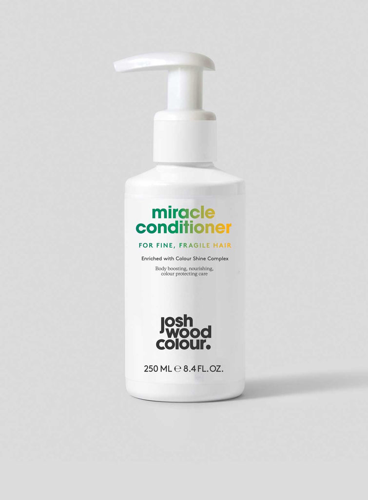Miracle Conditioner for Fine, Fragile Hair - Josh Wood Hair Colour at Home