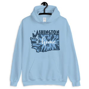 washington graphic hoodie