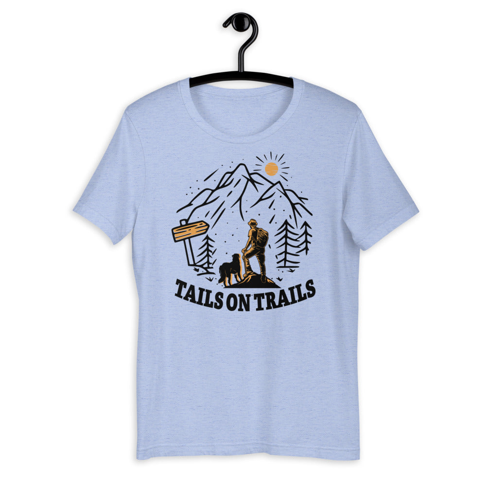 tails on trails sweatshirt