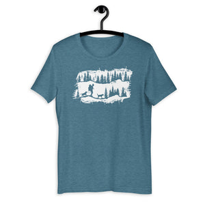 dog hiking shirt