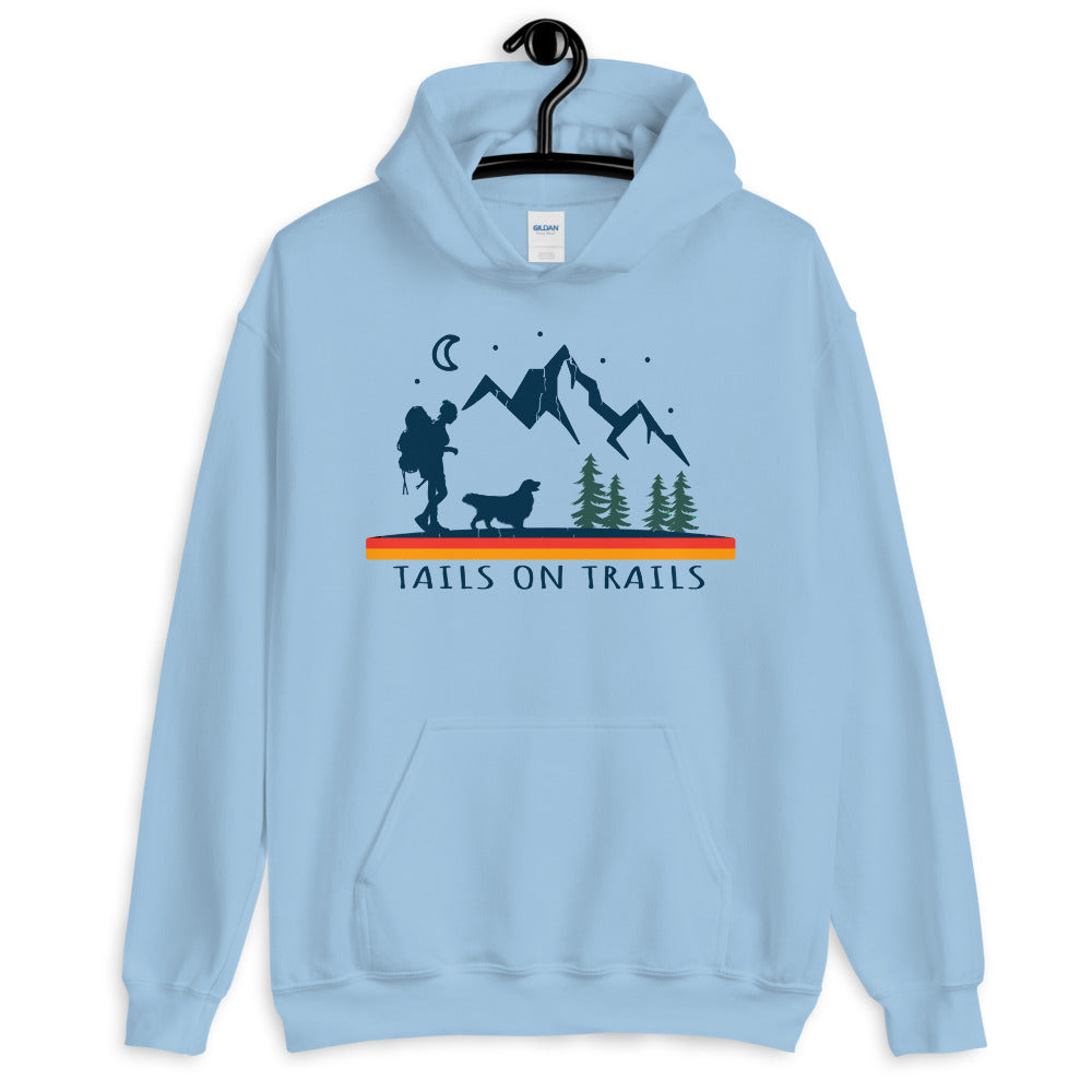 tails on trails hoodie
